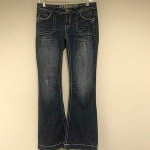 Hydraulic Bootcut Jean Size 7/8